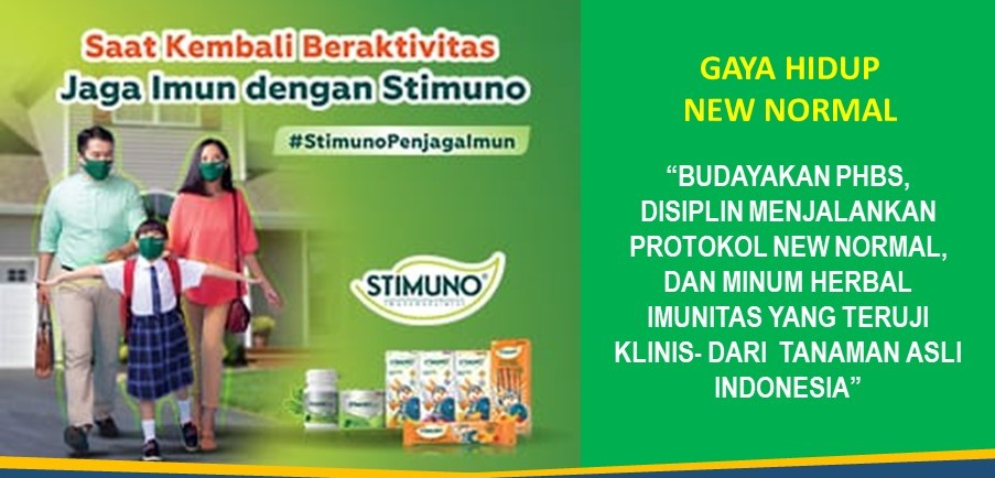 Herbal Imunitas, Di Era New Normal