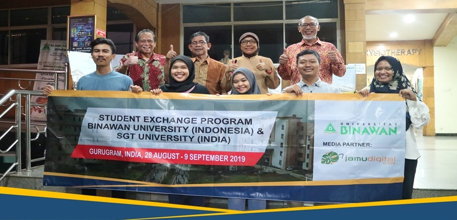 Universitas Binawan Adakan Internship dan Student Exchange ke India