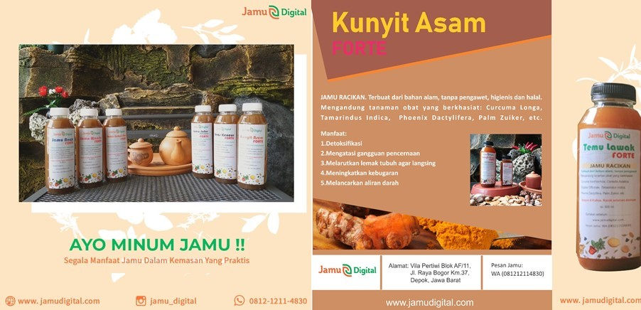Produk Jamu Digital